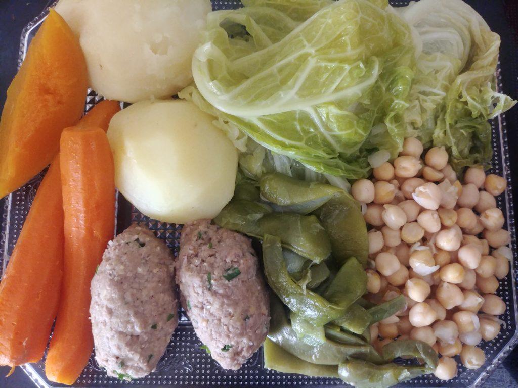 Verduras del brou